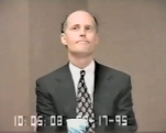 Rick Scott giving his deposition in the Columbia / HCA Medicare fraud investigation