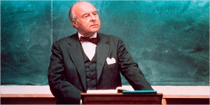John Houseman from the 1973 film THE PAPER CHASE