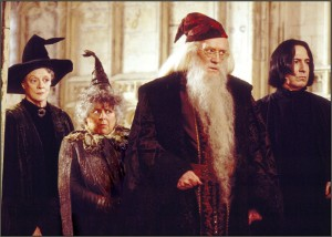 professors from a Harry Potter film?