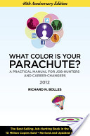 "Book cover: ""What Color is My Parachute?"""
