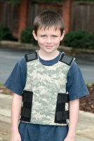 Centurion tactical vest for children, starting at $499