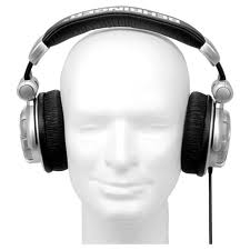 manikin head wearing TebowPhones