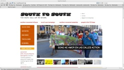 South to South homepage